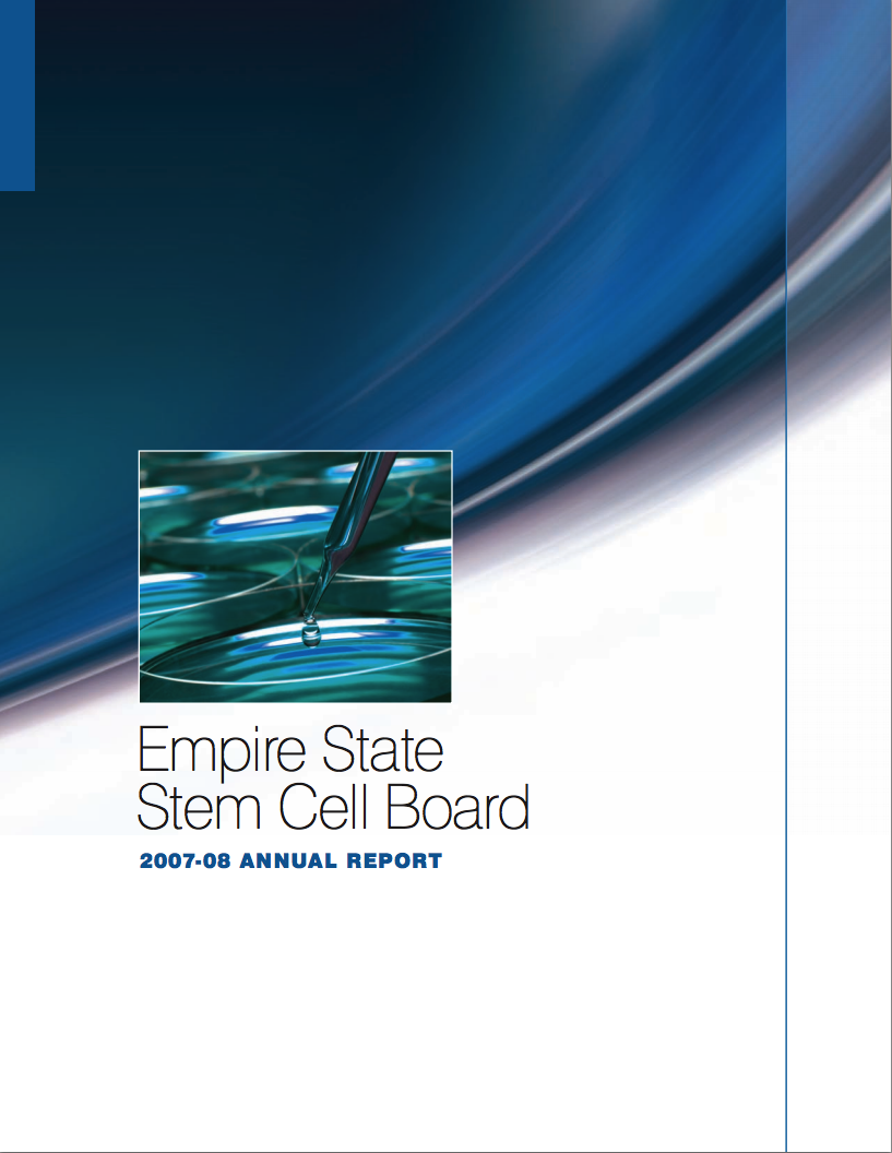 NYSTEM 2007 Annual Report