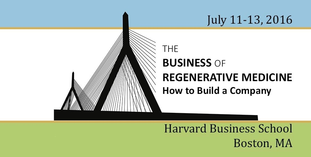 The Business of Regenerative Medicine | How to Build a Company.